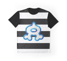 Team Aqua Stripes Graphic T-Shirt