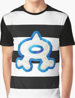 Team Aqua Stripes Graphic T-Shirt