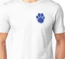Blue's Paw Print Pattern Unisex T-Shirt