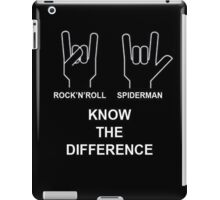 Know the difference iPad Case/Skin