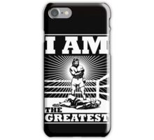 The definitive Greatest of ALL TIME! iPhone Case/Skin