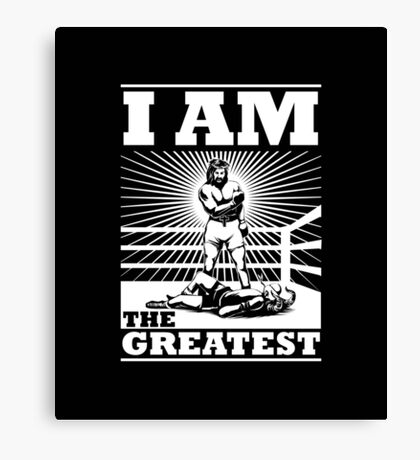 The definitive Greatest of ALL TIME! Canvas Print