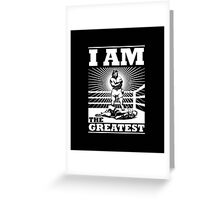 The definitive Greatest of ALL TIME! Greeting Card