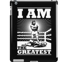 The definitive Greatest of ALL TIME! iPad Case/Skin