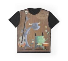 the Terrifying Toe Tapping Twosome Graphic T-Shirt