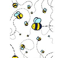 Bumble Pattern Photographic Print