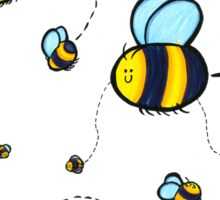 Bumble Pattern Sticker