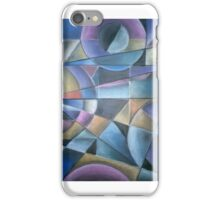 Abstract Light patterns iPhone Case/Skin