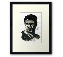 Nathan Drake from Uncharted Framed Print