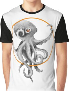 Constricted Octopus Graphic T-Shirt