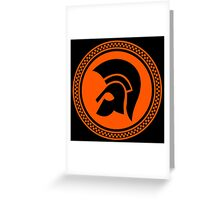TROJAN RECORDS SKA Greeting Card