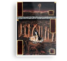 Destruction of the Forest Metal Print
