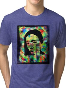 EYES WIDE OPEN... (4of4) by The Spilt Ink Tri-blend T-Shirt