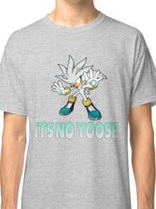 Silver The Hedgehog - It's no use  Classic T-Shirt
