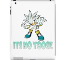 Silver The Hedgehog - It's no use  iPad Case/Skin