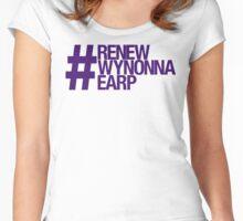 #RenewWynonnaEarp Women's Fitted Scoop T-Shirt