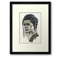 Elena Fisher from Uncharted.  Framed Print
