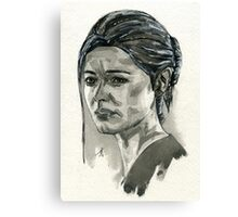 Elena Fisher from Uncharted.  Canvas Print