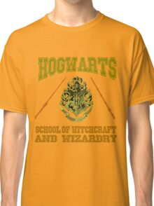 Hogwarts emblem (college style) Classic T-Shirt