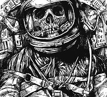 Dead Astronaut - White version by carbine