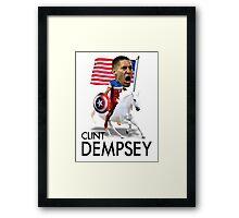 Clint Dempsey Framed Print