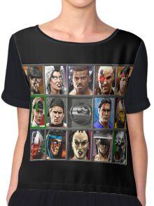 Mortal Kombat 3 Character Select Chiffon Top