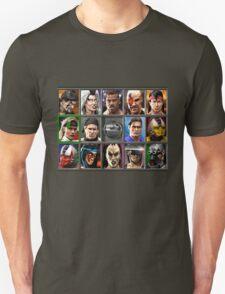 Mortal Kombat 3 Character Select Unisex T-Shirt