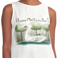 Swan Mother's Day Contrast Tank
