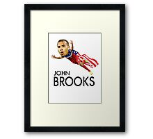 John Brooks USMNT Framed Print