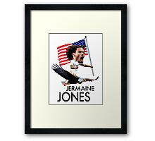 Jermaine Jones USMNT Framed Print