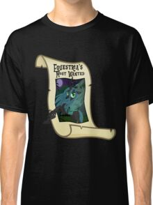 Equestria's Most Wanted - Queen Chrysalis Classic T-Shirt