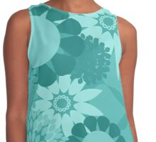 Turquoise Patterned Products Contrast Tank