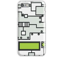 Metal Lab - Ghost Gear Green v2.1 - Danny Phantom iPhone Case/Skin