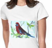 Enjoying the View - Rosella Womens Fitted T-Shirt