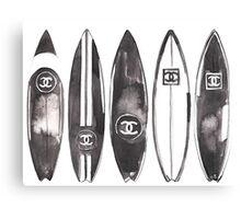 surf #fashion {summer} Canvas Print