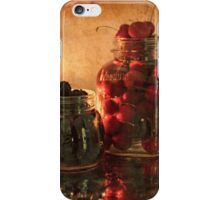 Memories - Homemade - Jambs, Cobblers and Preserves iPhone Case/Skin