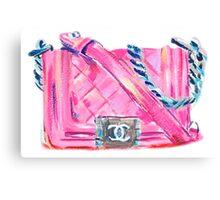 Pink-Bag Canvas Print