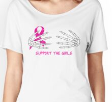 Support the Girls - Halloween Women's Relaxed Fit T-Shirt