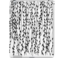 Willow Leaves (white ver.) iPad Case/Skin