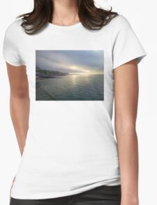 Cromer Sea Fret Womens Fitted T-Shirt