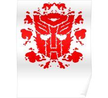 Autoblots (RED) Poster