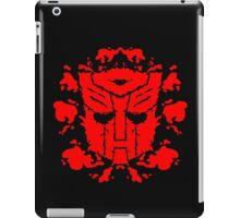 Autoblots (RED) iPad Case/Skin