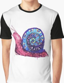 Trippy Snail Graphic T-Shirt