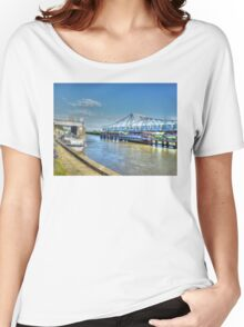 Reedham Swing Bridge Women's Relaxed Fit T-Shirt