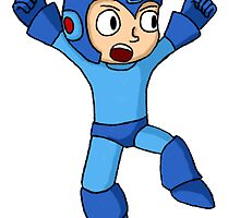 Mega Man Sticker by Cole Flott