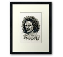 Nadine Ross from Uncharted 4.  Framed Print