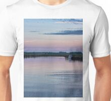 Sunset on the River Yare Unisex T-Shirt