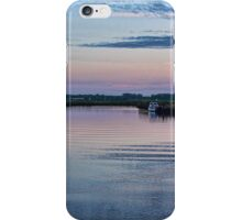Sunset on the River Yare iPhone Case/Skin