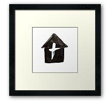 His House Framed Print