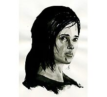 Ellie from The Last of Us  Photographic Print